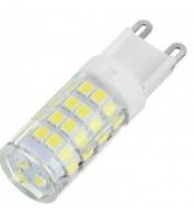 Lampada LED G9 220V 5W Branco F. 6000K 360º 500Lm
