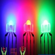 LED RGB vermelho/verde/azul 3 milímetros