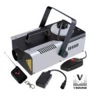 Máquina de Fumo 900W c/ Comando com e sem Fios - VSOUND