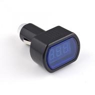Medidor de Tensão de Bateria Automóvel Digital