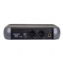 Microfone Mão s/ Fios (2 unid) + Receptor UHF 16 canais - KARMA