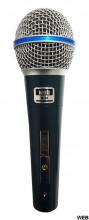 Microfone vocal dinâmico supercardióide - BETA M-58