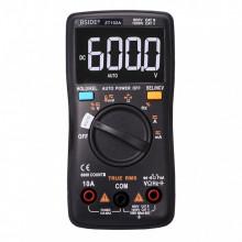 Multímetro True RMS Automático AC / DC V / AMP / ºC / Freq / Diodo / Resist / Capacitância