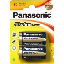 Pilha Alcalina 2x LR14 / C - Panasonic