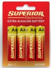Pilhas Extra Alcalina AA LR3 (Blister 4 unidades)
