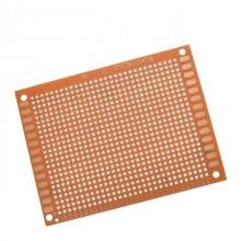 Placa perfurada PCB p/ Soldar 70x90mm