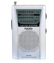 Rádio de bolso antena telescópica am/fm 2-band