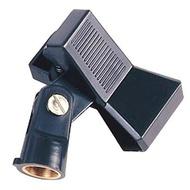 Suporte microfone universal com mola rosca metalica