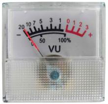 Vuímetro Áudio 40x40mm 1kOhm