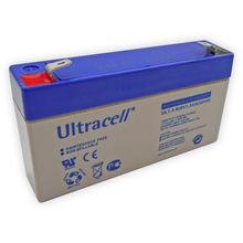 Bateria Chumbo 6V 1,3Ah (97x24x52 mm) - Ultracell