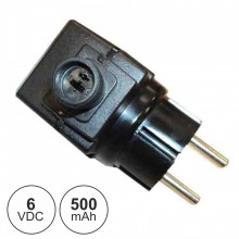 Alimentador Switching DC 6V 0.5A - 3W