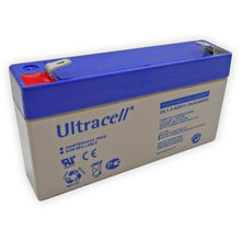 Bateria Chumbo 6V 1,3Ah (97x24x52 mm) - Ultracell