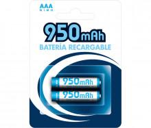 Blister 2 Pilhas Recarregáveis 1,2V 950mAh Ni-Mh - AAA