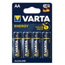 Blister 4 Pilhas Alcalinas 1,5V LR06 AA - VARTA