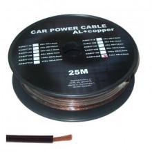 Cabo Alimentação p/ Amplificadores Auto Preto 4.5 mm - metro