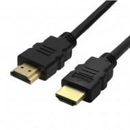 Cabo HDMI com Ethernet - contatos banhados a ouro - 3 metros