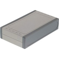 Caixa para montagem ABS 130 x 76 x 30 mm cinza claro