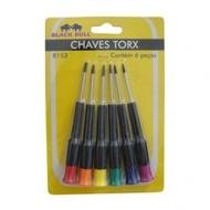 Conjunto Chaves Torx - 6 peças