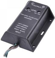 Conversor Audio de Alta para Baixa Impedância RCA