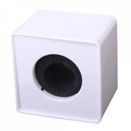 Cubo para Microfone (Entrevista, Publicidade) - Branco