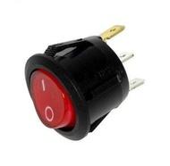 Interruptor iluminado Redondo Ø22mm 220V
