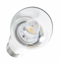 Lampada LED E27 C5 P50 220V 6W Branco Q. 3000K 360Lm