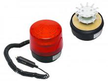 Luz de emergência LED Vermelho 12V c/ Iman - isqueiro