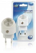 LUZ de NOITE LED C/ SENSOR NOITE 220V 1W