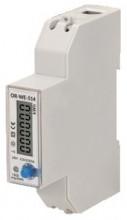 Medidor Digital Custos Energia RS485 e MID p/ Calha DIN (Monofásico) 5(100)A - ORNO
