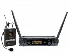 Microfone Cabeça s/ Fios (1 unid) + Receptor UHF 16 canais
