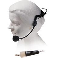 Microfone de Cabeça Dinâmico Profissional c/ ficha Jack 3.5mm