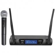 Microfone Mão s/ Fios (1 unid) +Receptor VHF 183.57 MHz - KARMA