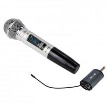 Microfone s/ Fios UHF c/ Receptor