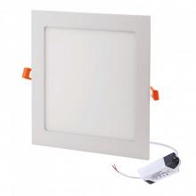 Painel LEDS Quadrado 12W 16,6cm 6400k 960lm AVIDE