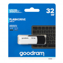 Pen Drive USB 2.0 32 GB UME2 (Branco) - GOODRAM