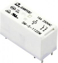 Relé SPDT 12VDC SM-S-112DM 16A 250 V