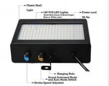Strobe 35W LED RGBW 220V com comando