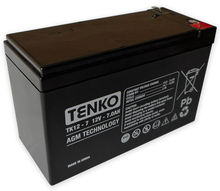 Bateria Chumbo 12V 7Ah (150 x 65 x 95 mm) - TENKO