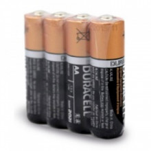 Pack 4 Pilhas Alcalinas 1,5V LR06 AA - Duracell