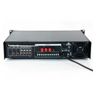 Amplificador de Linha 180W RMS - Misturador PA c/ Leitor MP3 e rádio FM