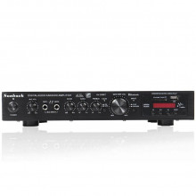 Amplificador HI-FI c/ USB / SD / BT / FM 5 canais 2x 200W + 3x50W