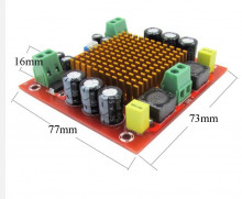 Amplificador Hi-Fi Classe D Mono 300 W maximo com pré amplificador