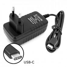 CARREGADOR / ALIMENTADOR COM USB-C 5V 3A PARA TELEMOVEIS E RASPBERRY PI 4