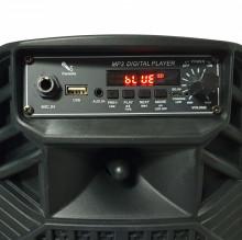 "Coluna Bluetooth Portátil 6.5"" 10W TWS BT/USB/AUX/BAT Kruger Matz"
