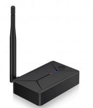 Emissor Áudio Bluetooth 5.0 c/ entrada digital óptica, coaxial e Aux