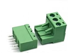 Ficha MSTB Macho / Fêmea 3 contactos para Circuito Impresso passo 5.08mm