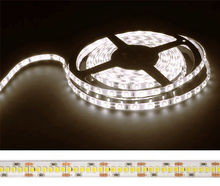 Fita 1200 LEDs SMD2835 Flexivel IP20 Branco Q. 3000K 24V - 5 mts