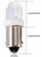 Lâmpada Led BA9S T4W 1895 Xenon Branco