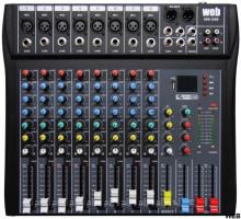 Mesa de mistura profissional 11 canais 80S-USB