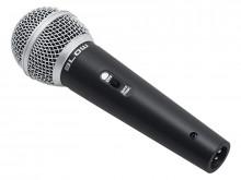 Microfone dinâmico de fio c/ Interruptor PRM317 - BLOW